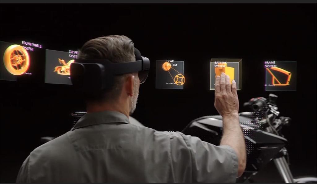 Uso de Microsoft HolonLens 2