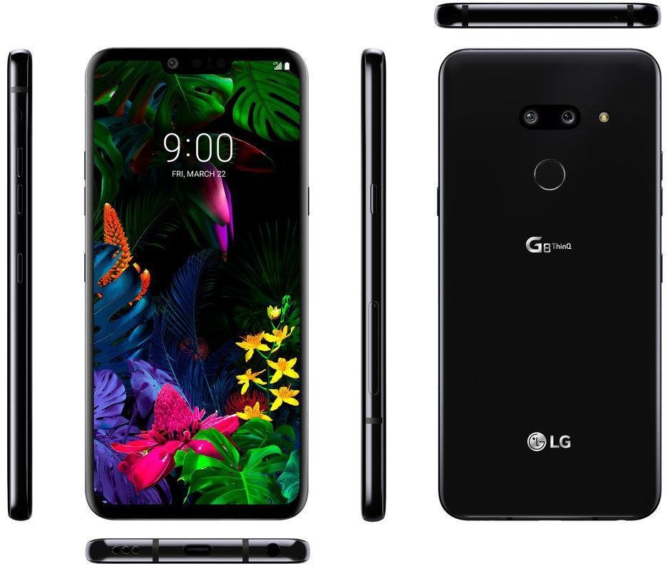 Diseño completo del LG G8 ThinQ