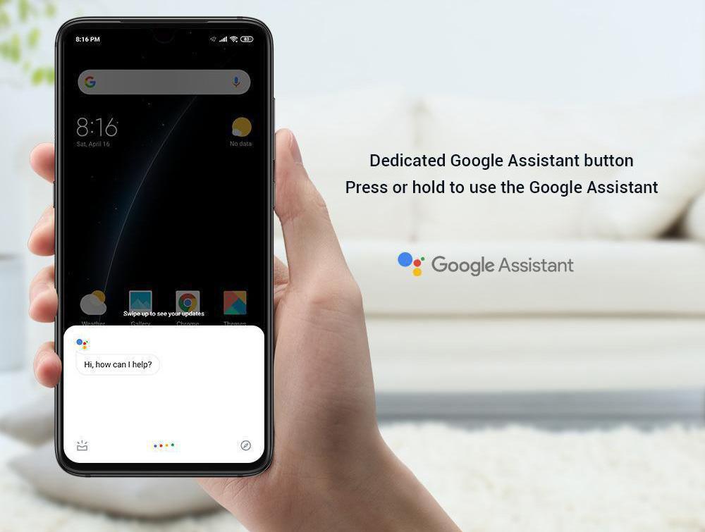 Asistente Google en el Xiaomi Mi 9