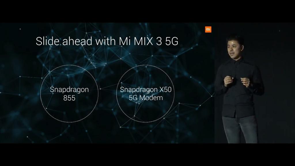 Anuncio Xiaomi Mi Mix 3 5G