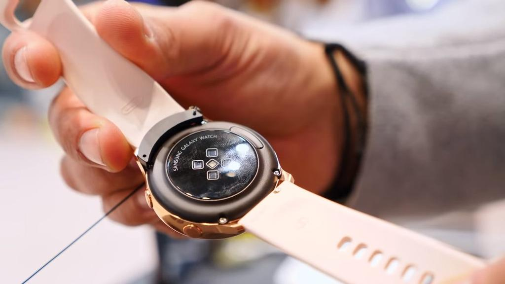 Trasera del Samsung Galaxy Watch Active