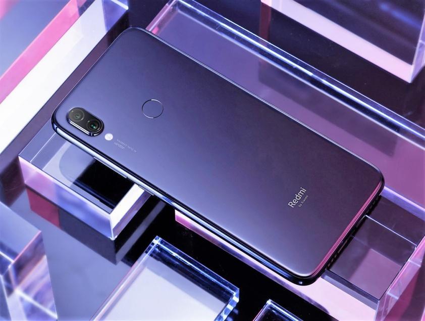 Imagen trasera del Redmi Note 7 Pro