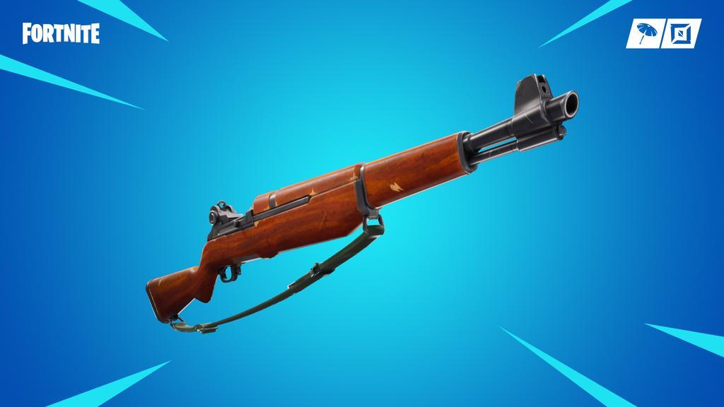 Nuevo fusil de infantería de Fortnite