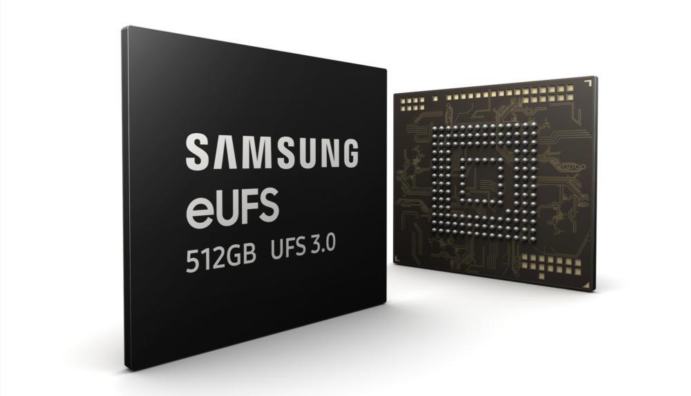 Memoria interna del Samsung Galaxy Note 10