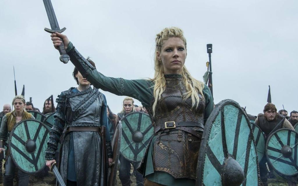 Serie Vikingos en HBO