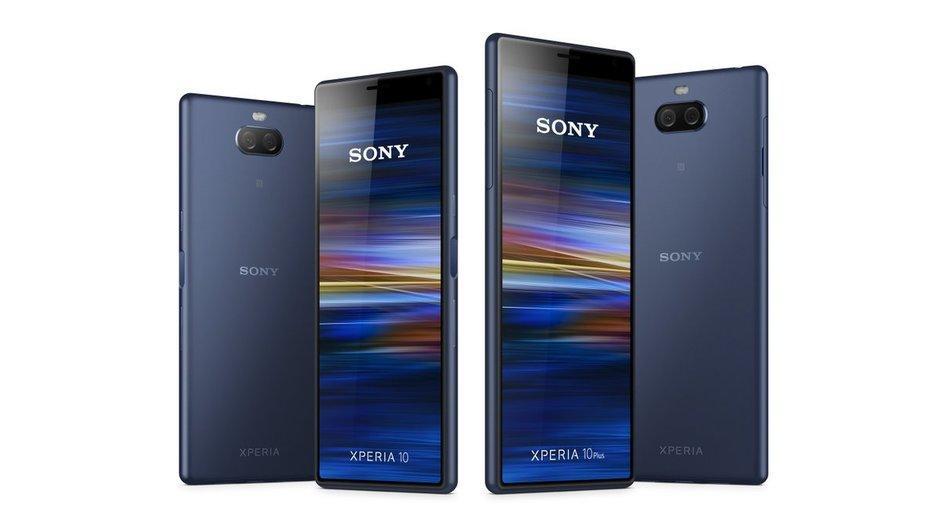 Diseño del Sony Xperia XZ4