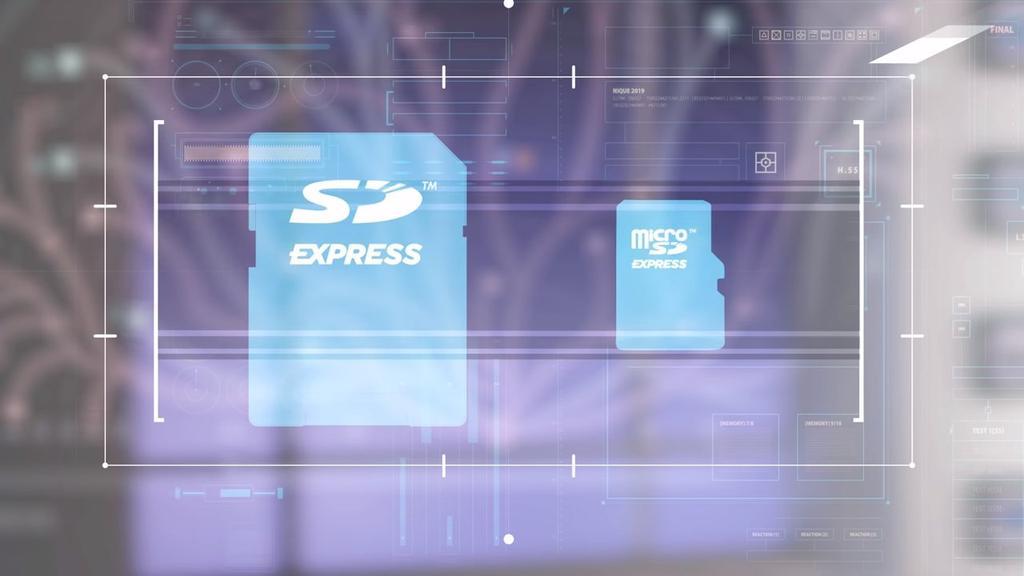 Imagen tarjetas microSD Express