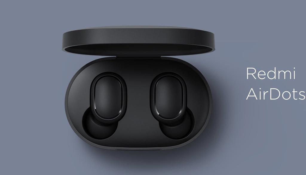 Diseño los de los auriculares Redmi AirDots