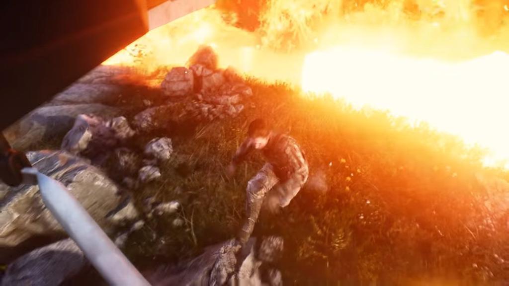 Recorte de anillo de fuego en Battlefield V