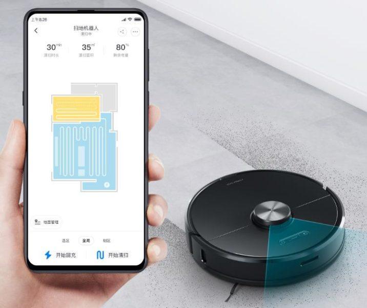 Uso de la aplicación Mi Home con Xiaomi Roborock T6