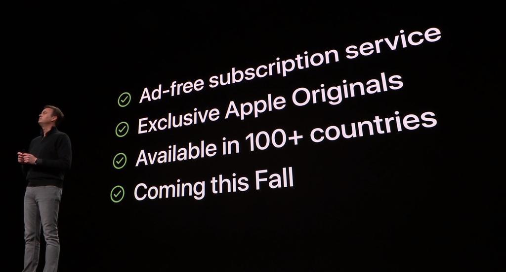 Presentación de Apple TV+