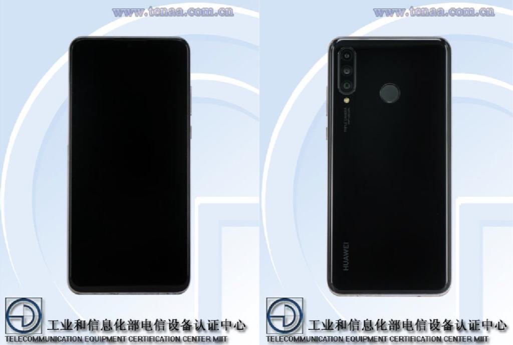 Imagen del diseño del Huawei P30 Lite