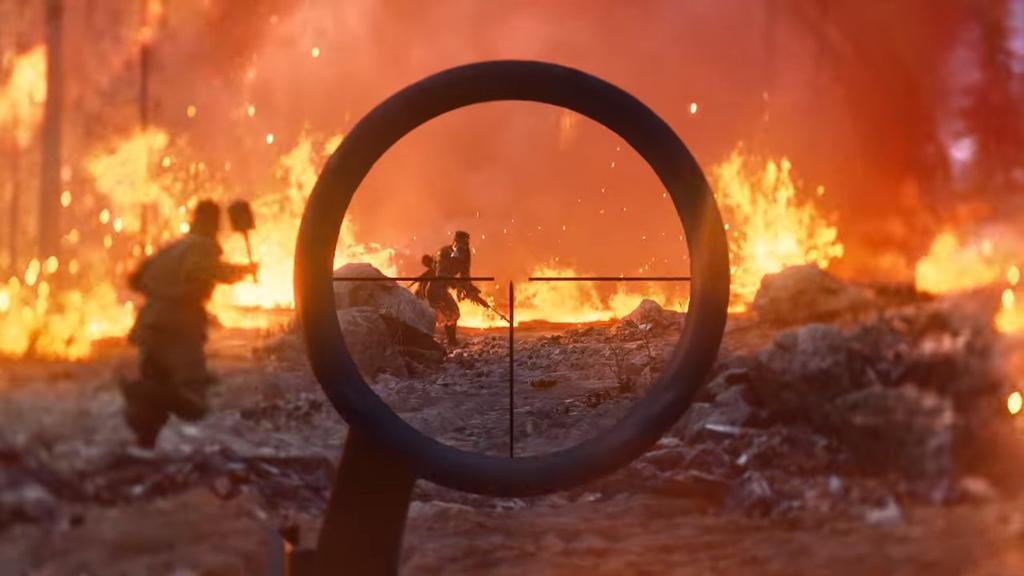 Jugando a Battlefield V