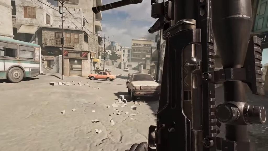 Calidad gráfica del juego Call of Duty Mobile