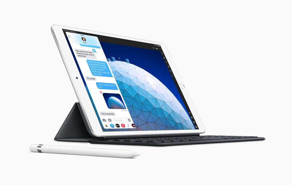 diseño del iPad Air