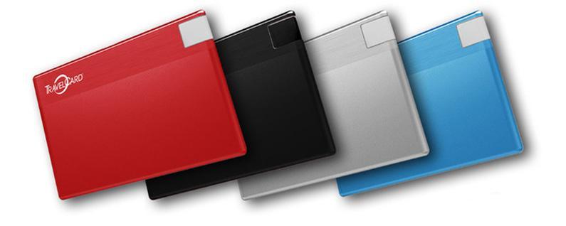 Colores disponibles en TravelCard