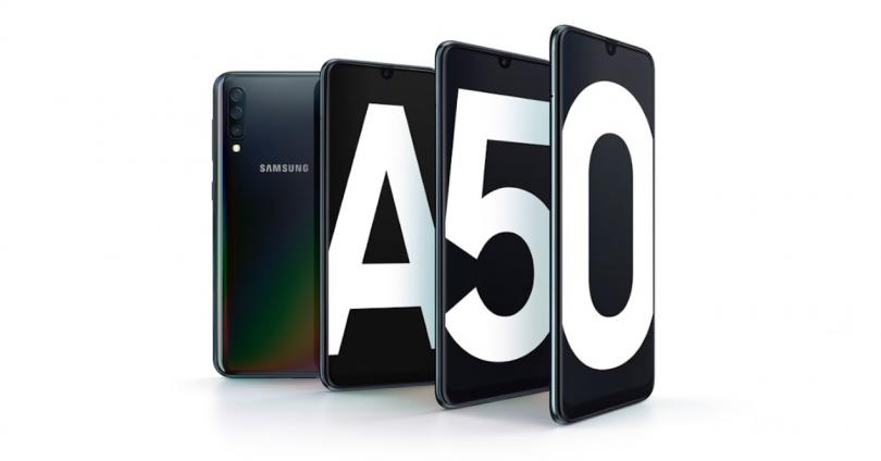 Diseño del Samsung Galaxy A50