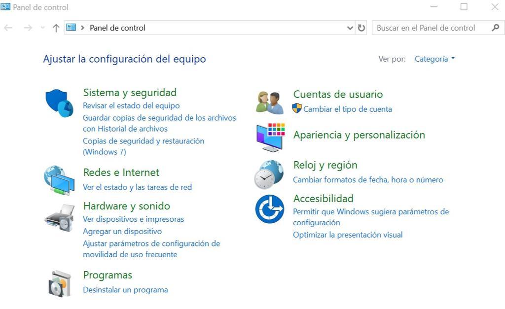 Configurar el teclado en Windows 10