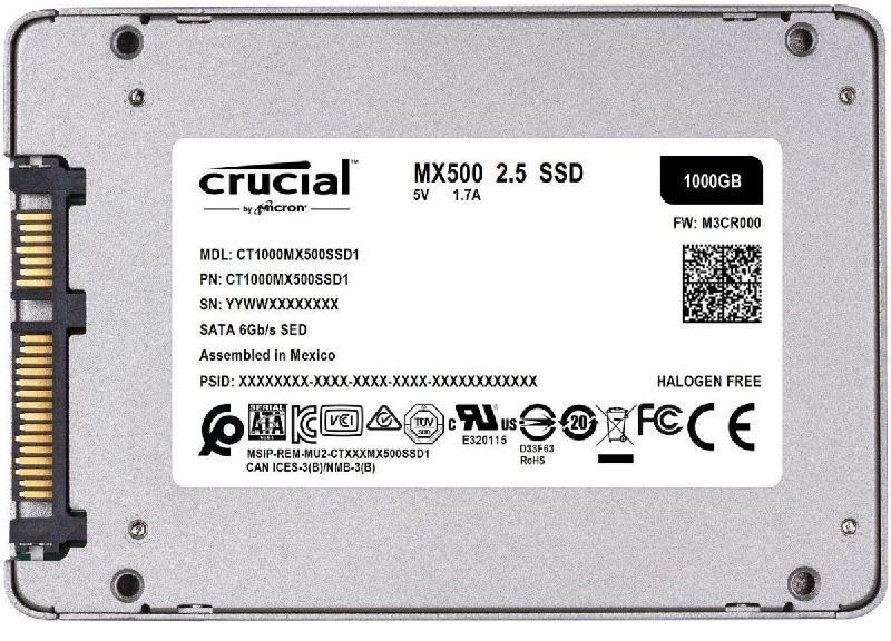 Disco SSD Crucial SATA