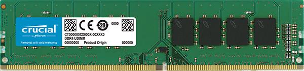 Memoria RAM DDR4 de Crucial