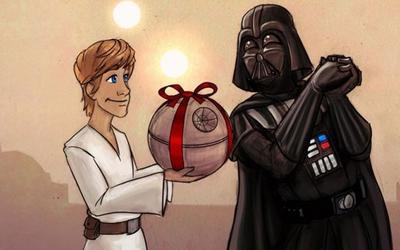 Felicitar Día del padre Star Wars
