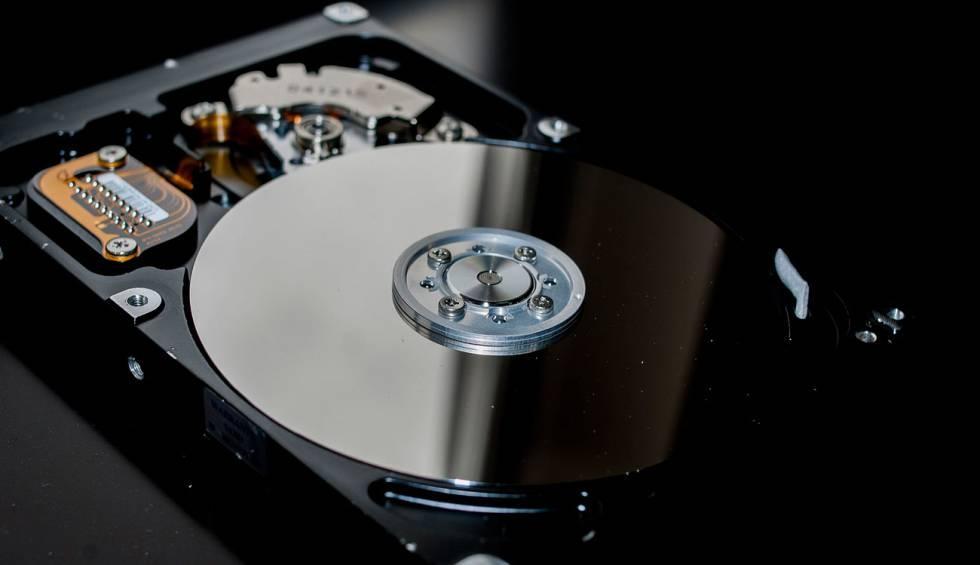 Interior de un disco interno