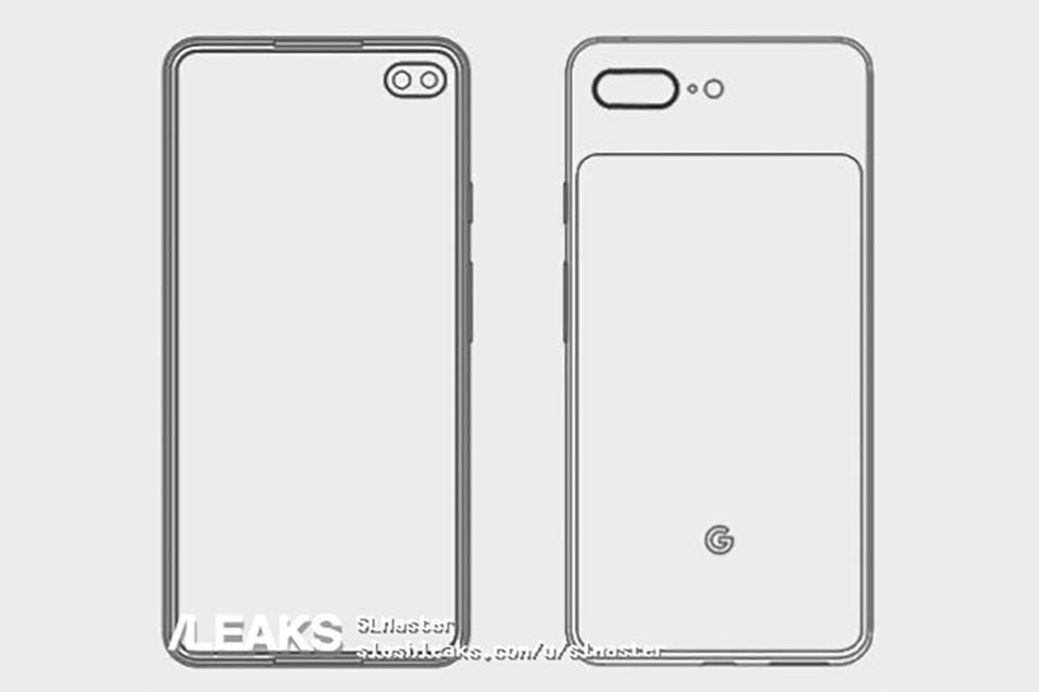 diseño del Pixel 4