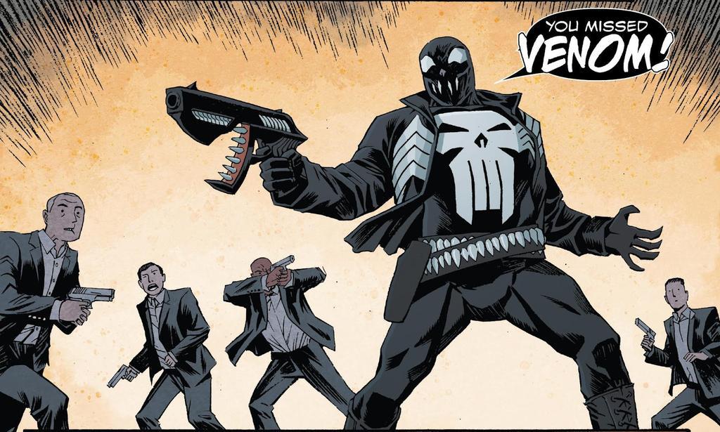 Punisher con Venom