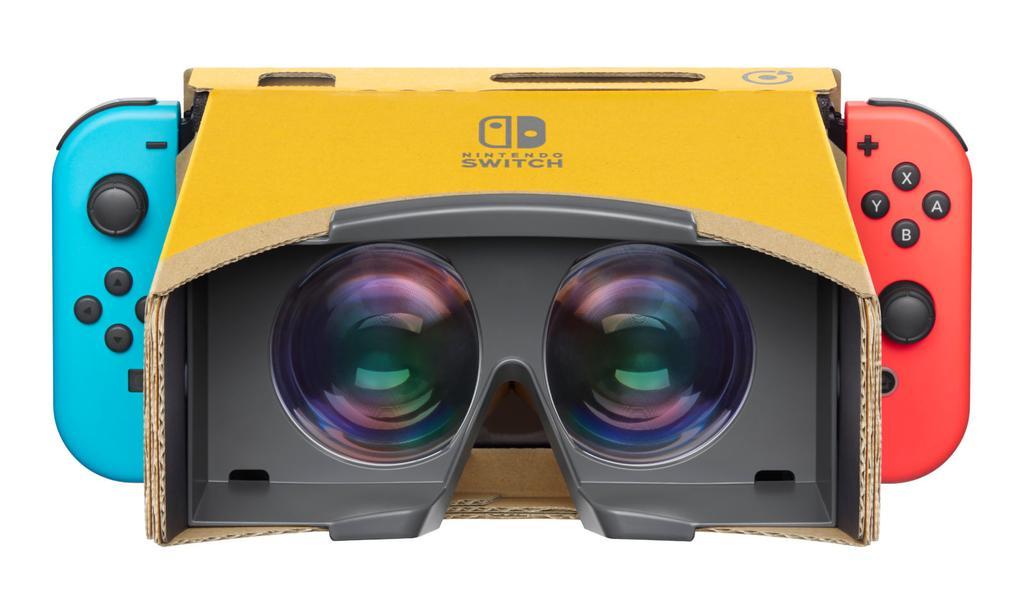 Visor Realidad Virtual para Nintendo Switch creado con Nintendo Labo