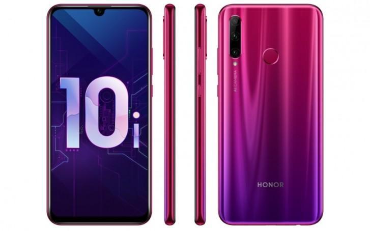 Nuevo teléfono Honor 10i color rojo