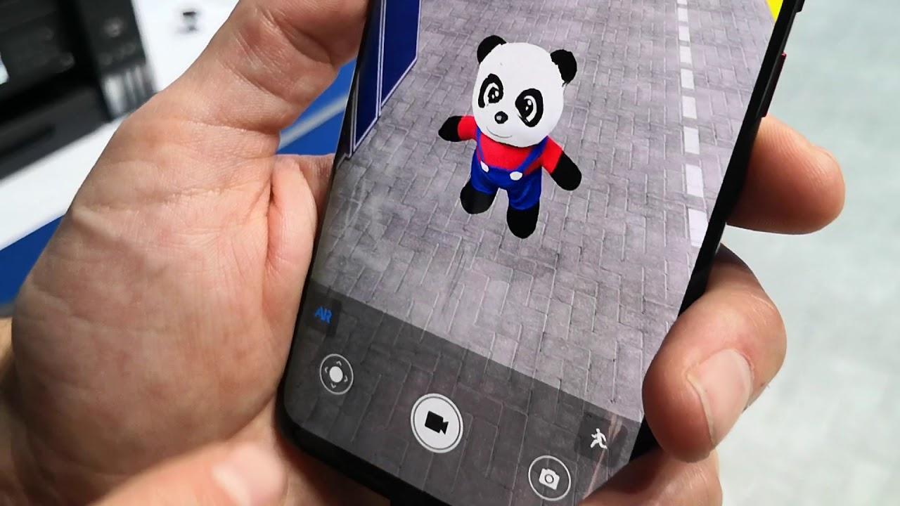 Uso del escaneo 3D en los Huawei Mate 20 Pro