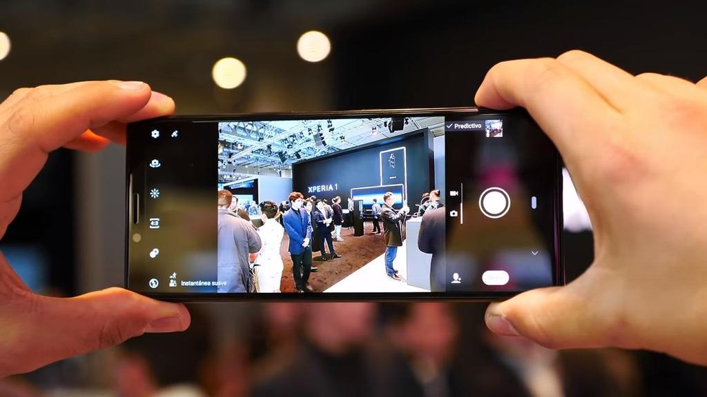 Aplicación cámara del Sony Xperia 1
