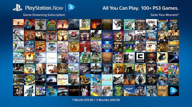 Juegos disponibles en la plataforma PS Now