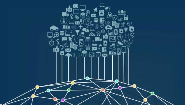 Logotipo de Inteligencia Artificial con fondo azul