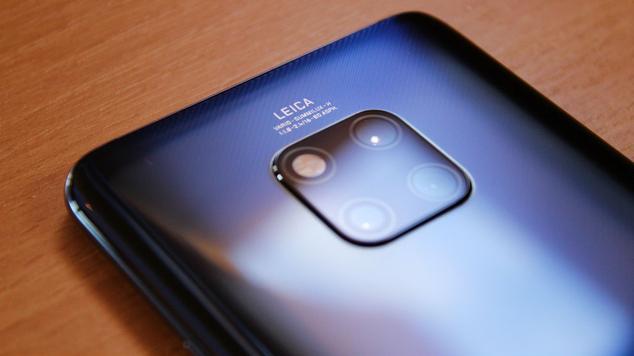 Cámara trasera del Huawei Mate 20 Pro