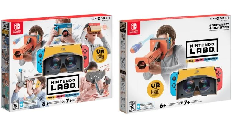 KitNintendo Labo Realidad Virtual para Nintendo Switch