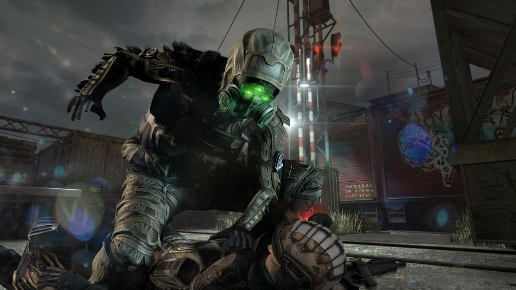 Escena de Splinter Cell BlackOut