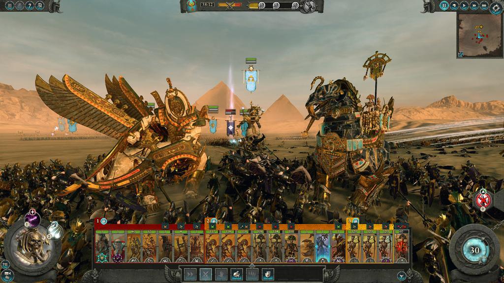 Escena de Warhammer: Total War II
