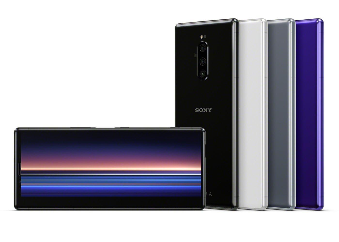 Pantalla del Sony Xperia 1