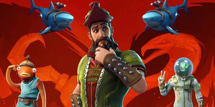 Piratas en el juego Fortnite
