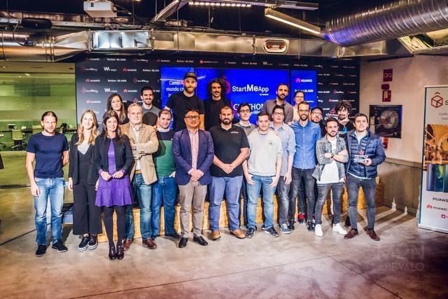 Participantes concurso StartMeApp de Huawei