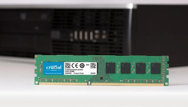 Modulo RAM de Crucial