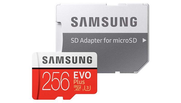 tarjeta microSD Samsung EVO Plus