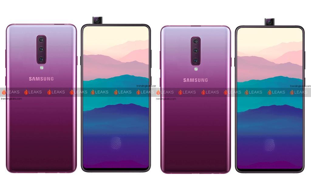 Diseño del Samsung Galaxy A90