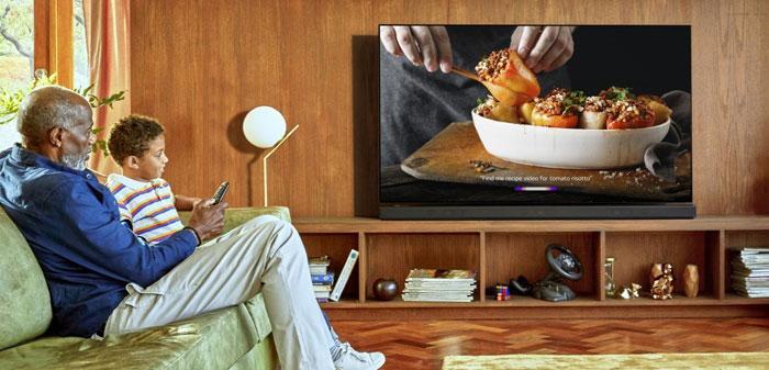 Uso de una Smart TV de LG