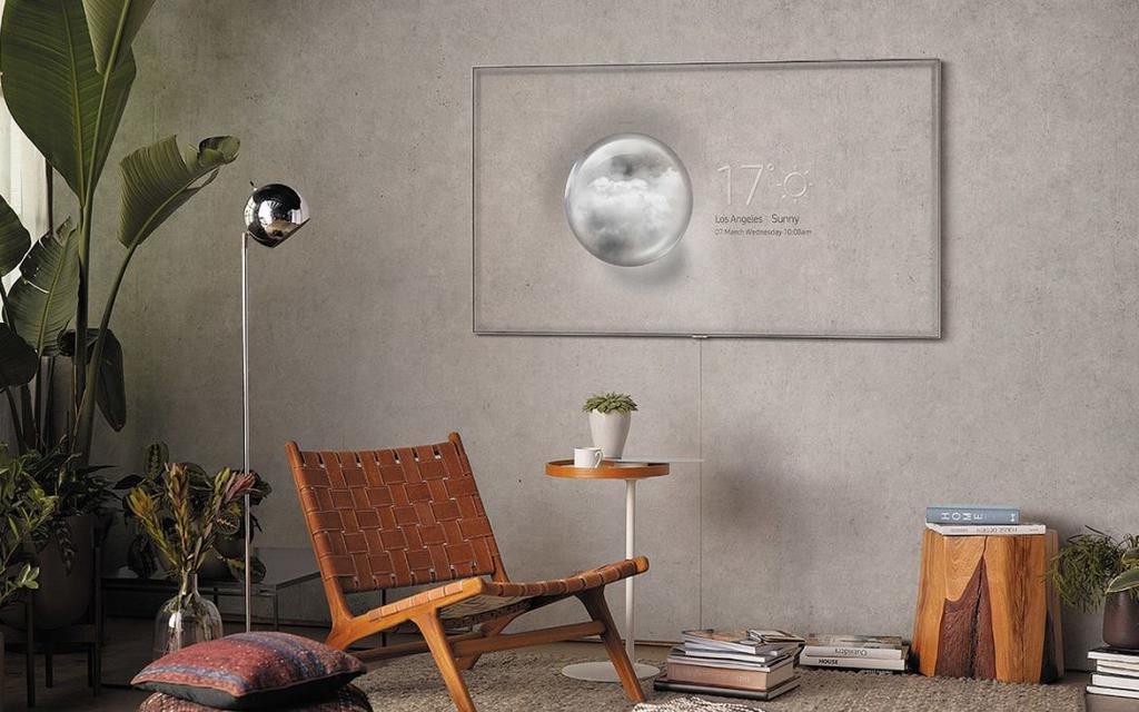 Modo Ambient en Smart TV Samsung QLED