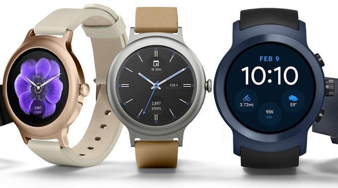 Smartwatch de LG W7