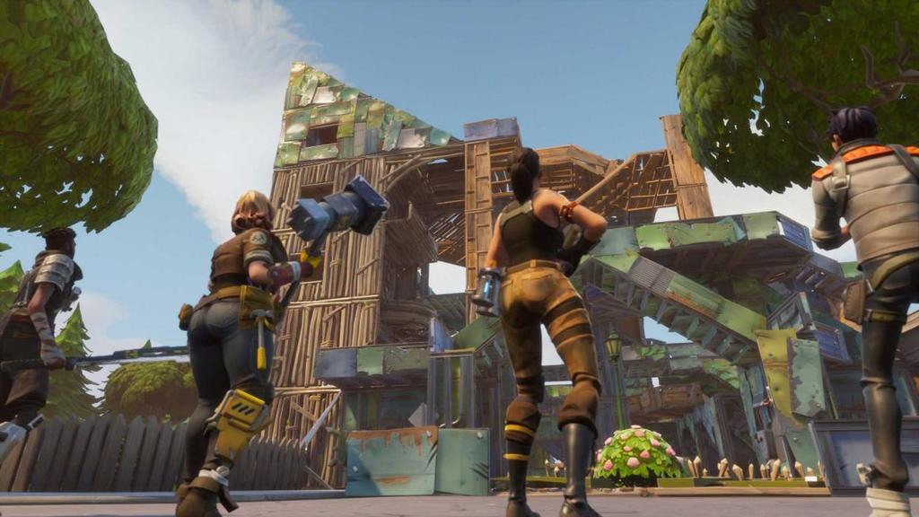 Construcciones en Fortnite