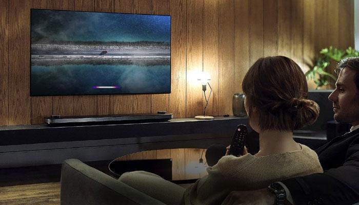 Imagen Smart TV de LG en uso
