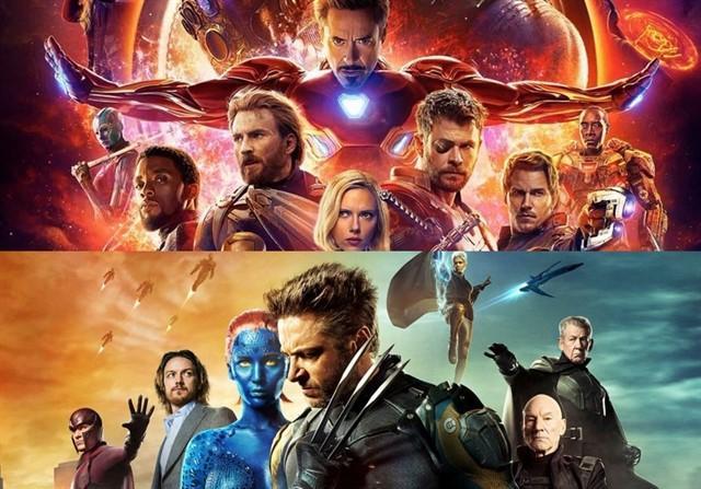 Imagen con X-Men y Los Vengadores de Disney